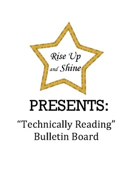 """Technically"" Reading Theme Character Summary Recommendation Bulletin Board"