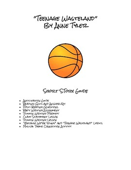 """Teenage Wasteland"" Short Story Guide"