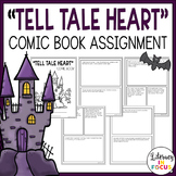 Tell Tale Heart Comic Book Project