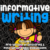 Writing - Informative - No Prep Guided Practice - Pre and