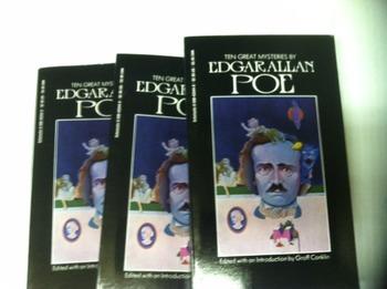 """Ten Great Mysteries"" books, by Edgar Allan Poe  - Literat"