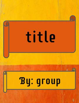 """Terracotta"" Simple E-Book Template"