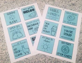 ☀️ Test Motivation Sticky Notes