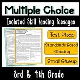 Multiple Choice Skill Based Test Prep (Grades 3-4)