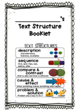**Text Structure Booklet
