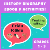 Frida Kahlo History Biography eBook w/ Printables, Activities, & Puzzles