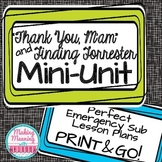 """Thank You, M'am"" Mini-Unit - Emergency Sub Plan, Middle H"