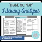 """Thank You, M'am"" by Langston Hughes Literary Analysis Gra"