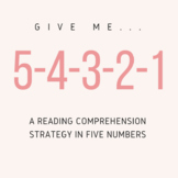 """""""Thank You, Ma'am"""" 5-4-3-2-1--A Reading Comprehension Strategy in Five Numbers"""