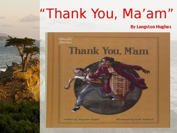 """""""Thank You, Ma'am""""  By Langston Hughes- Analysis Packet"""