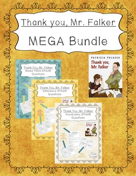 """Thank You, Mr. Falker"" MEGA Bundle - STAAR Questions and Task Cards"