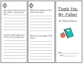 """Thank You, Mr. Falker"" Trifold"