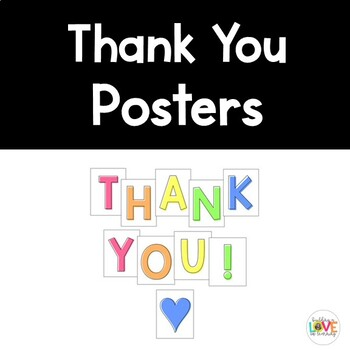 """Thank You"" Posters"