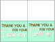 """FREEBIE """"Thank You a Latte for Your Commit-mint"""" Gift Tags"""