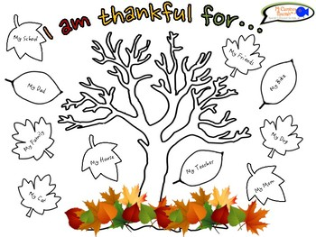 photo about Thankful Tree Printable identified as Grateful Tree Worksheets Schooling Elements Academics Shell out