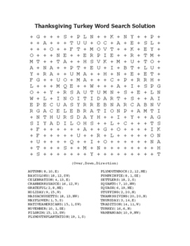 """Thanksgiving"" 15 Word Search Bundle! SAVE Over 80%! Holiday FUN! (Black Line)"