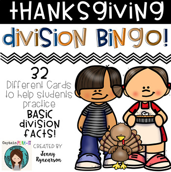 ♦♦♦ Thanksgiving Division BINGO! ♦♦♦  32 different cards!