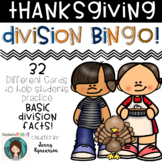 ♦♦♦ Thanksgiving Division BINGO! ♦♦♦  32 different cards!