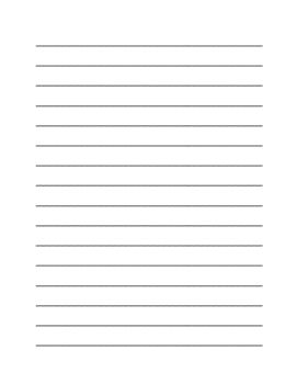 """Thanksgiving Pilgrim Hat"" Writing Sheets!  Holiday FUN! (Black Line)"