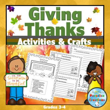 """""""Thanksgiving"""" Writing Bundle"""