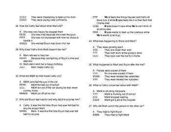 """""""That was Then, This was Now"""" S.E. Hinton Test on whole book with answer key"""