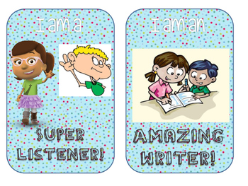 *The ABC Teacher* BRAG TAGS (Suitable for all age levels).