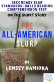 """The All-American Slurp"" Multiple-Choice Reading Comprehen"