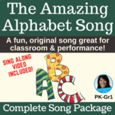 """""""The Amazing Alphabet Song"""" by Lisa Gillam 