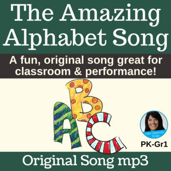 """""""The Amazing Alphabet Song"""" by Lisa Gillam   Song mp3"""