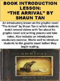 """""""The Arrival"""" Shaun Tan Interview Questions Activity"""
