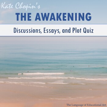 The Awakening Essay Topics Rubric And Plot Quiz Multiple Formats The Awakening Essay Topics Rubric And Plot Quiz Multiple Formats