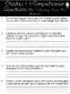 """""""The BFG"""" Comprehension Questions for Novel Study/Guided Reading"""