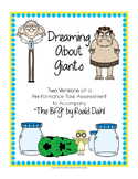 """The BFG"" Performance Task Assessment: Dreaming About Giants"