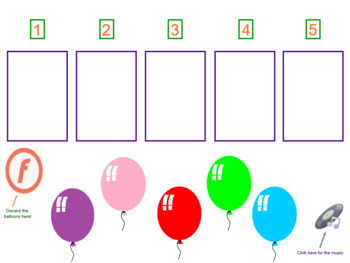 """""""The Balloon"""" Action Song 