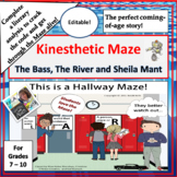 The Bass, The River, and Sheila Mant Kinesthetic Literary Analysis Maze