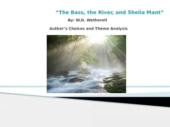 """The Bass. the River, and Sheila Mant"" Irony, Symbolism, a"