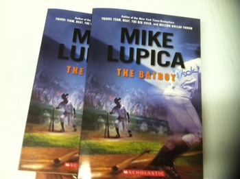 """""""The Batboy"""" books, by Mike Lupica  - Literature Circle Set"""