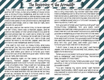"""The Beginning of the Armadillo"" Just So Stories with Depth and Complexity"