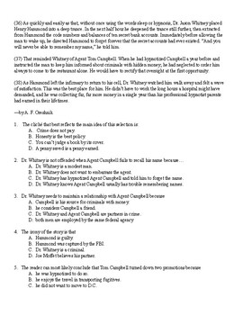 """""""The Best Place"""" Inference and English II EOC Practice questions"""