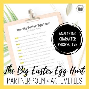 """""""The Big Easter Egg Hunt"""" {A Seasonal Partner Poem}"""