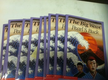 """The Big Wave"" books, by Pearl Buck - Literature Circle Set"