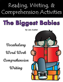 """The Biggest Babies"" Guided Reading Program Activities"