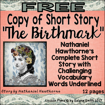 """The Birthmark"" Free Copy of Story by Nathaniel Hawthorne"