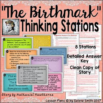 """The Birthmark"" Thinking Stations - Nathaniel Hawthorne"