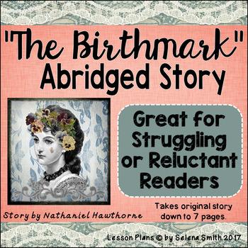 """The Birthmark"" by Nathaniel Hawthorne ABRIDGED Short Story for Easier Reading"