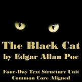 """The Black Cat"" Edgar Allan Poe Text Structure Unit"
