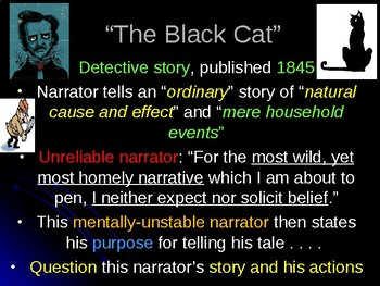 """The Black Cat"" Notes"