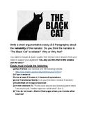 """The Black Cat"" Unreliable Narrator- Argumentative Essay"