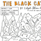 """""""The Black Cat"""" by Poe Color-By-Parts-Of-Speech (*Great Halloween Activity!!*)"""
