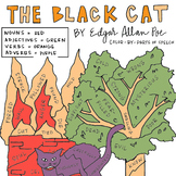 """""""The Black Cat"""" by Poe Color-By-Parts-Of-Speech (*Great Ha"""